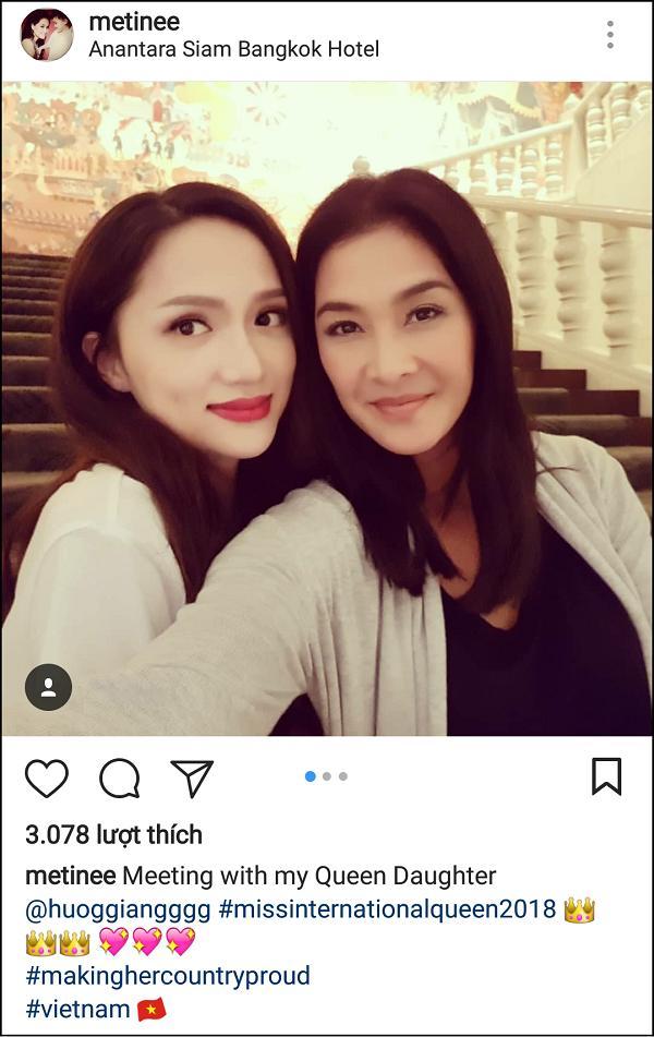 Hương Giang Idol tay bắt mặt mừng khi gặp chị đại Lukkade