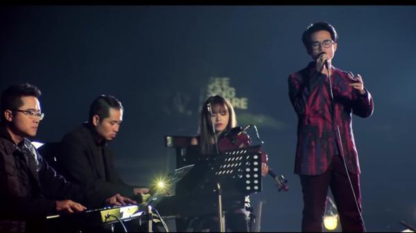 Fan phát cuồng khi Hà Anh Tuấn hát lại hit của Mỹ Tâm-1