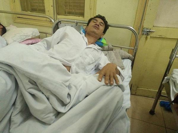 Bảo vệ Bệnh viện K Trung ương mời người nhà bệnh nhân vào phòng rồi hành hung tập thể-1