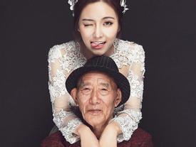 9X chụp ảnh cưới cùng ông lão 87 tuổi và lý do xúc động phía sau