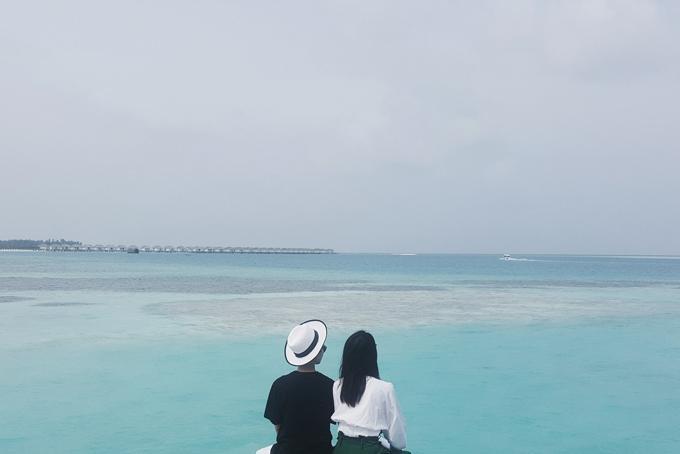 Kỳ nghỉ ở Maldives nắng ấm của đôi bạn thân Quỳnh Chi và Thuỳ Dung-1
