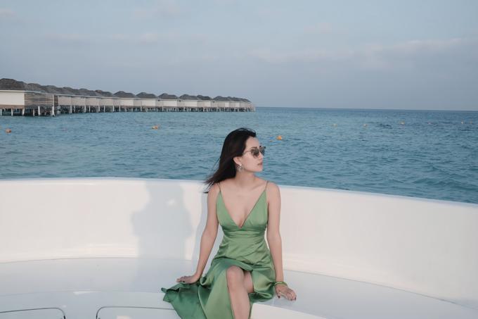 Kỳ nghỉ ở Maldives nắng ấm của đôi bạn thân Quỳnh Chi và Thuỳ Dung-2