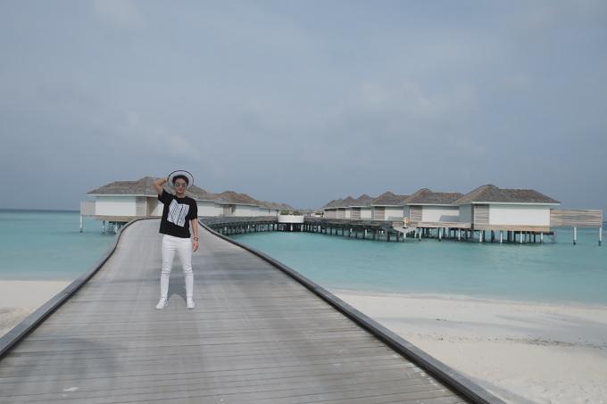 Kỳ nghỉ ở Maldives nắng ấm của đôi bạn thân Quỳnh Chi và Thuỳ Dung-8
