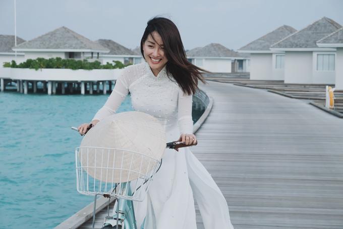 Kỳ nghỉ ở Maldives nắng ấm của đôi bạn thân Quỳnh Chi và Thuỳ Dung-10