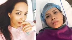 Thúy Hạnh khóc òa vì nhập viện mổ cấp cứu lần 2 sau hai tháng cắt bỏ tử cung