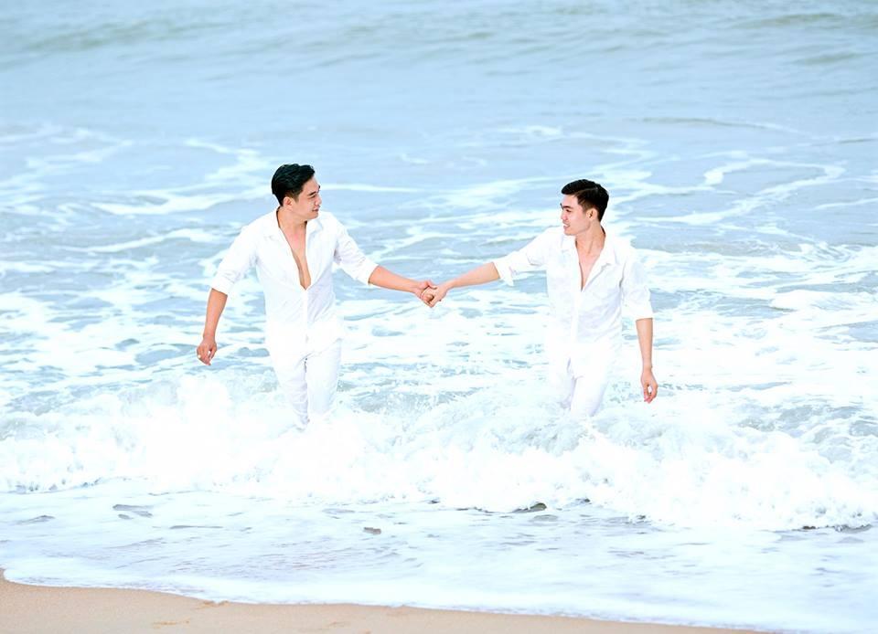 Đám cưới đồng tính của cặp trai đẹp Đồng Tháp gây xôn xao dân mạng-1