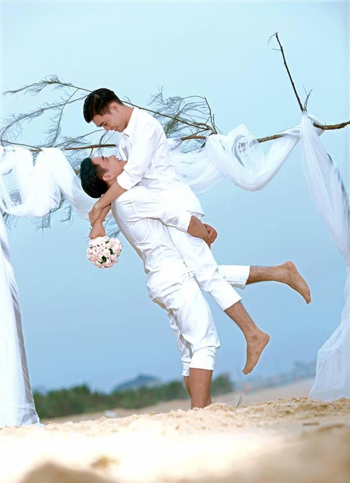 Đám cưới đồng tính của cặp trai đẹp Đồng Tháp gây xôn xao dân mạng-3