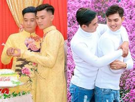 Đám cưới đồng tính của cặp trai đẹp Đồng Tháp gây xôn xao dân mạng