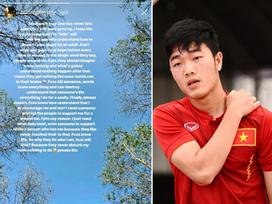 Xuân Trường U23 Việt Nam gây shock khi viết tâm thư: 'Fan phong trào không có não'