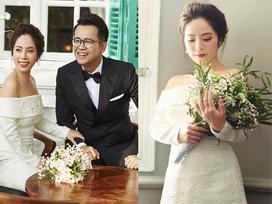 MC 'Chúng tôi là chiến sĩ' tung ảnh cưới đẹp long lanh với vợ xinh đẹp