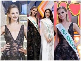 Á hậu Chuyển giới 2018 mặc đi mặc lại một chiếc váy liên tiếp trong 3 sự kiện khiến fan xót xa
