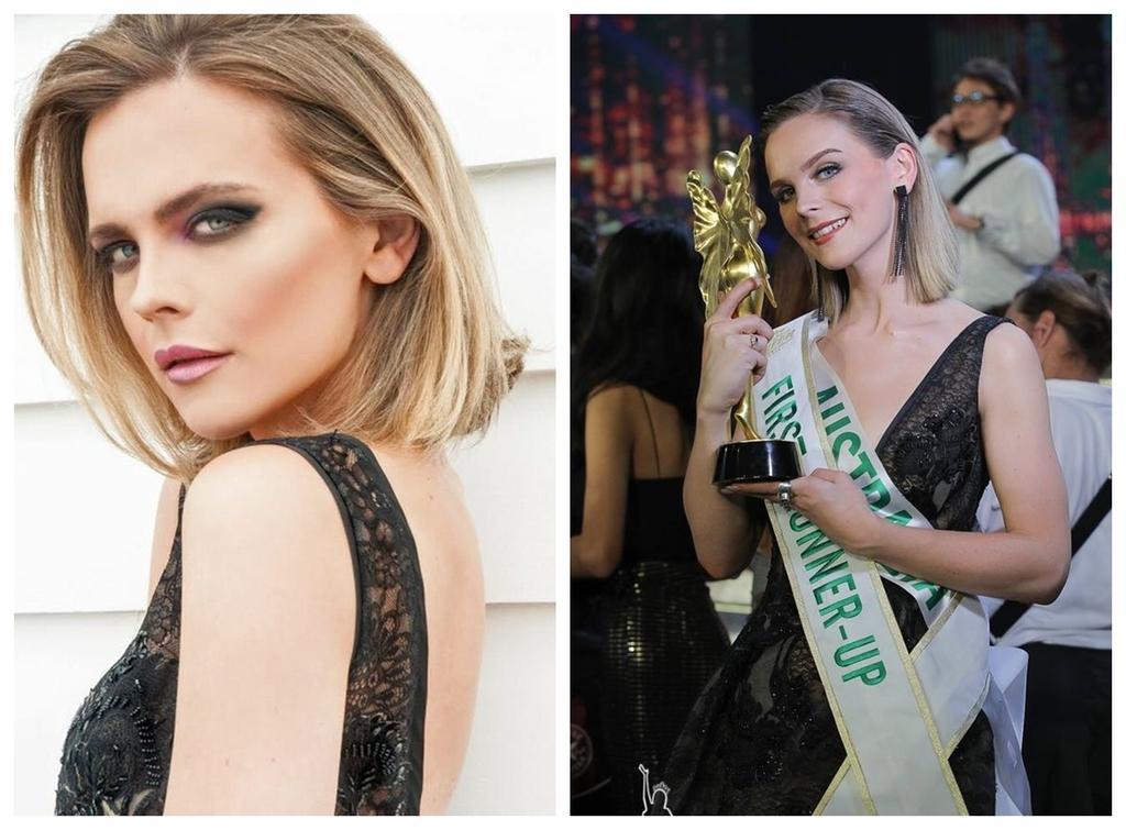 Á hậu Chuyển giới 2018 mặc đi mặc lại một chiếc váy liên tiếp trong 3 sự kiện khiến fan xót xa-2