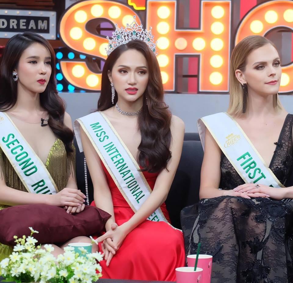 Á hậu Chuyển giới 2018 mặc đi mặc lại một chiếc váy liên tiếp trong 3 sự kiện khiến fan xót xa-6