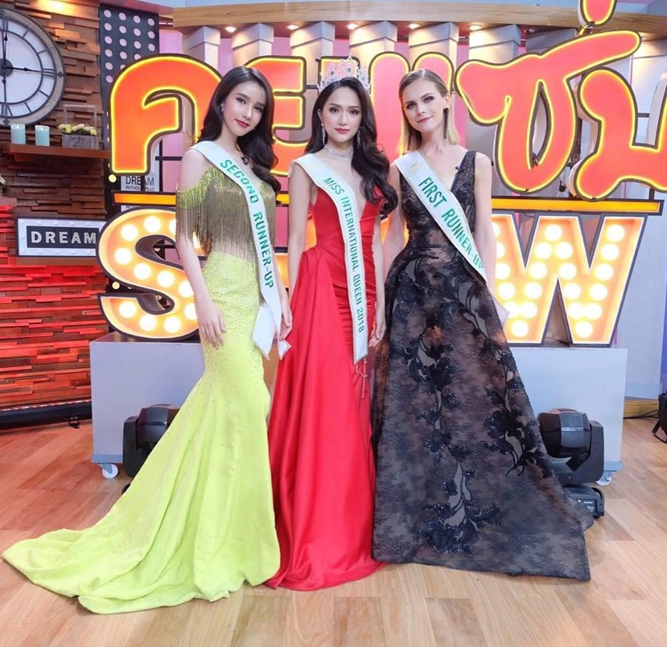 Á hậu Chuyển giới 2018 mặc đi mặc lại một chiếc váy liên tiếp trong 3 sự kiện khiến fan xót xa-5