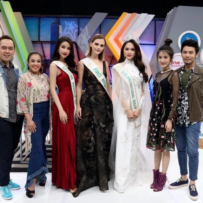 Á hậu Chuyển giới 2018 mặc đi mặc lại một chiếc váy liên tiếp trong 3 sự kiện khiến fan xót xa-8