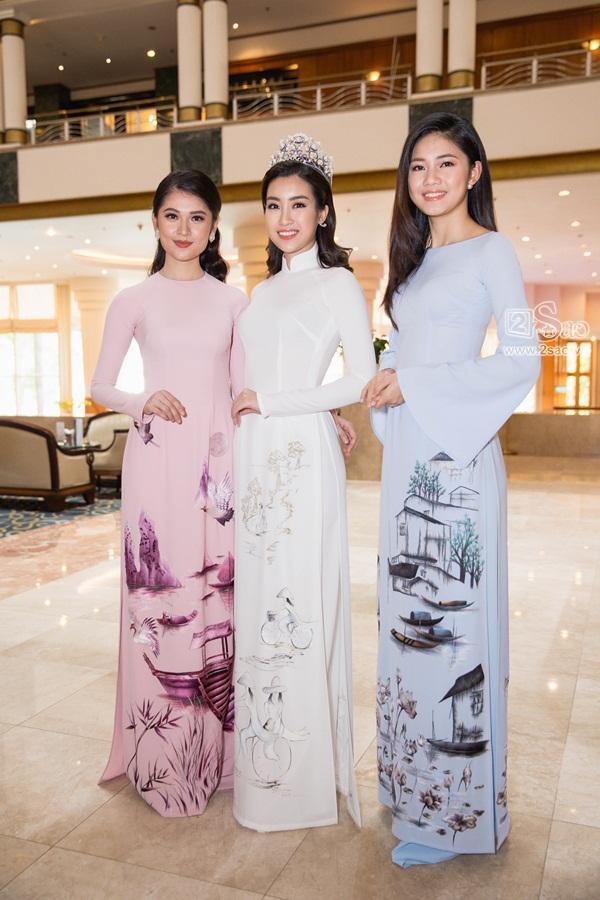 Dàn hoa hậu, á hậu Việt Nam đọ sắc tại sự kiện công bố cuộc thi Hoa hậu Việt Nam 2018-3