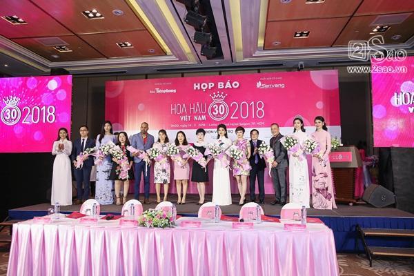 Dàn hoa hậu, á hậu Việt Nam đọ sắc tại sự kiện công bố cuộc thi Hoa hậu Việt Nam 2018-1