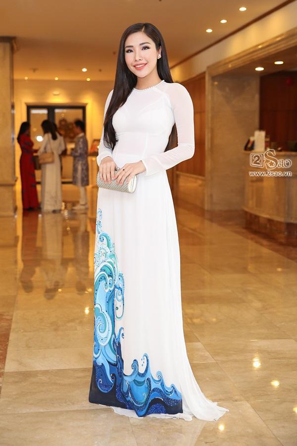 Dàn hoa hậu, á hậu Việt Nam đọ sắc tại sự kiện công bố cuộc thi Hoa hậu Việt Nam 2018-11