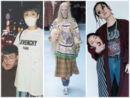 Hết Châu Bùi - Decao lại đến Miu Lê - Duy Khánh đi đầu trào lưu ôm thủ cấp tạo dáng kiểu Gucci