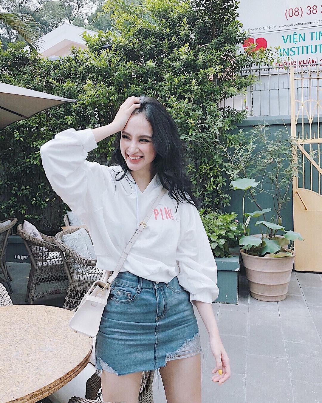 Tin sao Việt: Huyền My bật mí bí quyết sở hữu cằm Vline-6