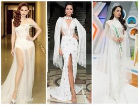 Cùng diện váy trắng, H'Hen Niê - Hương Giang Idol đẹp bất phân thắng bại trên thảm đỏ tuần qua