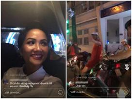 Bất ngờ được người đi đường nhận ra, Hoa hậu H'Hen Niê phản ứng siêu thân thiện