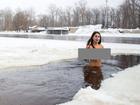 Lý do gây sốc của người phụ nữ 'trần như nhộng' chạy bộ và bơi ngoài trời trong thời tiết âm độ C