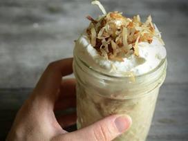 Cách làm kem cà phê dừa nạo ngon mê ly