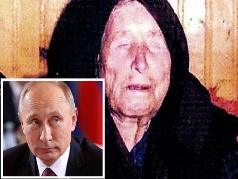 Ông Putin tái đắc cử Tổng thống Nga và lời tiên tri 'chúa tể thế giới' của bà Vanga