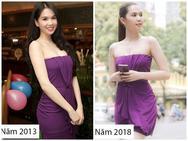 Cả kho đồ hiệu nhưng lại chọn mặc chiếc váy tím lịm từ 5 năm trước, Ngọc Trinh bị chê sến và lạc điệu