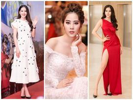 Ngắm thời trang thảm đỏ đẹp mướt mắt của Hoa khôi Nam Em