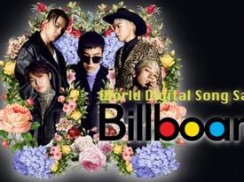 Mặc lùm xùm tại Hàn, 'Flower Road' của BigBang vẫn 'bán đắt' trên Billboard