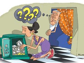 Vợ chồng không nên có quỹ 'đen' mà nên có quỹ riêng