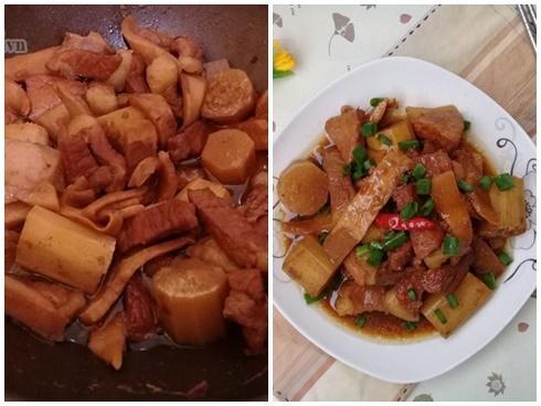 Làm trong nháy mắt món thịt heo kho dừa non mềm ngọt thơm ngon, tốn cơm vô cùng