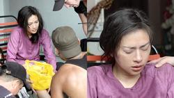 Ngô Thanh Vân té nứt xương đầu gối khi diễn cảnh hành động