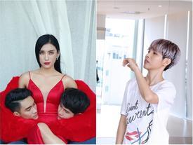 Tiêu Châu Như Quỳnh ôm thủ cấp mẫu nam quay MV, Vũ Cát Tường khoe vũ đạo đáng yêu
