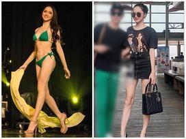 Body đẹp xuất sắc, tân Hoa hậu Chuyển giới Hương Giang chỉ còn mỗi khuyết điểm chân gầy, đầu gối củ lạc