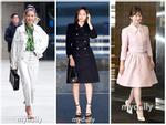 Song Hye Kyo 'lên đồ' ngọt ngào - Krystal sang chảnh nổi bật nhất thời trang sao Hàn tuần qua