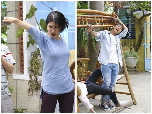 Màn phi dao của Trang Trần khiến Đàm Vĩnh Hưng và Hoài Lâm sợ 'xanh mặt'