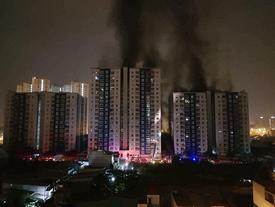 Cháy chung cư Carina Plaza, 13 người chết
