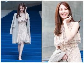 'Em út' Seohuyn vướng nghi án tiêm thẩm mỹ vì cười gượng và đơ tại Tuần lễ thời trang Seoul