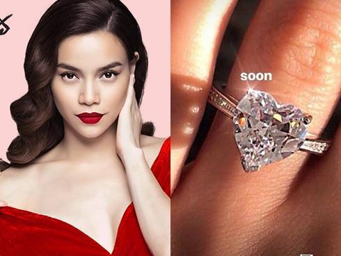 Khẳng định đã sở hữu nhẫn kim cương, Hà Hồ chuẩn bị về chung nhà với Kim Lý thật rồi!