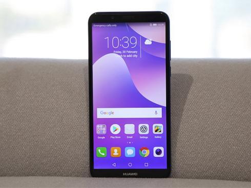 Huawei công bố smartphone tràn viền màn hình Y7 Pro 2018 giá rẻ