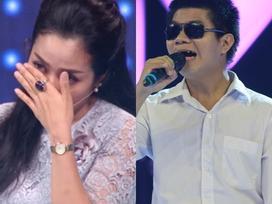 Ốc Thanh Vân 'ngấn lệ' trước câu chuyện của người cha bị khiếm thị bẩm sinh đi thi hát