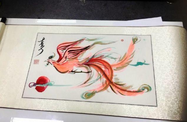 Mỹ nhân thị phi nhất showbiz Hoa ngữ, Lý Mạc Sầu Trương Hinh Dư không ngờ vẽ tranh lại mê hồn đến thế!-10