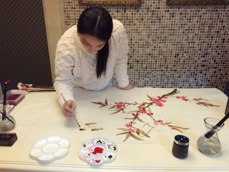 Mỹ nhân thị phi nhất showbiz Hoa ngữ, Lý Mạc Sầu Trương Hinh Dư không ngờ vẽ tranh lại mê hồn đến thế!-2