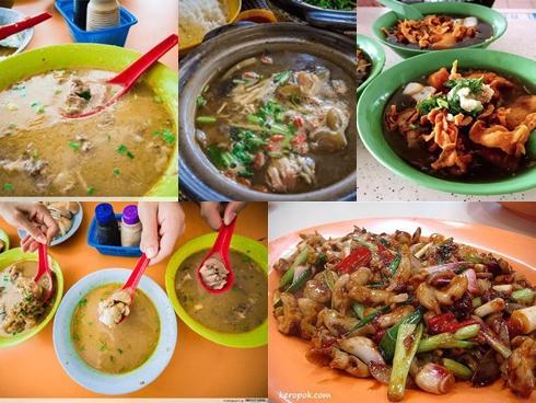 Những món ăn kỳ quặc chẳng nơi nào có ngoài Singapore