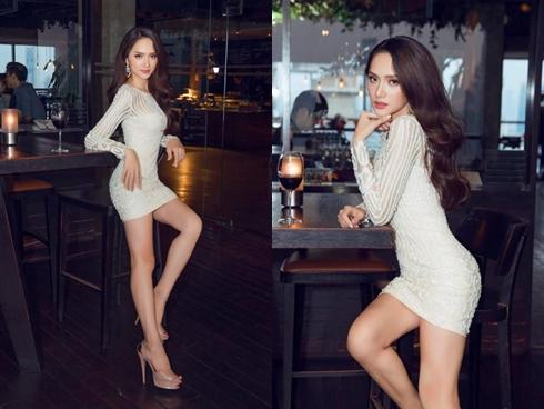 Bị soi tận đôi giày, Hương Giang chẳng hề ái ngại diện váy cũ khoe đường cong chữ S
