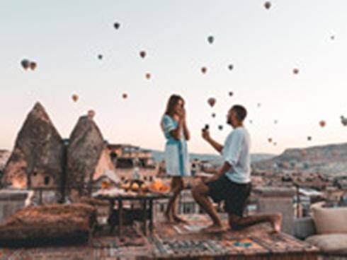 5 điểm cầu hôn lãng mạn hiếm thấy trên thế giới