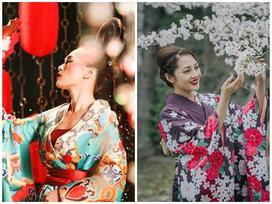 Để vạt phải đè lên vạt trái, Mỹ Tâm bị cho là mặc kimono sai với truyền thống Nhật Bản trong MV mới